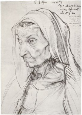 portrait of the artist s mother 1514