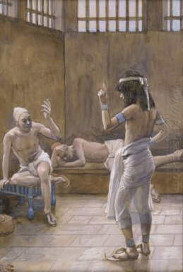 Joseph Interprets The Dreams While In Prison