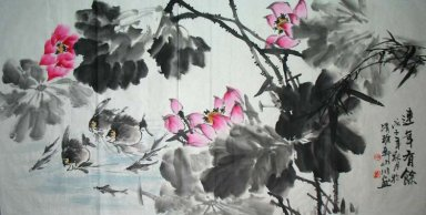 Lotus&Fish - Chinese Painting