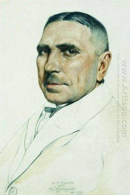 Portrait Of I M Markov 1921