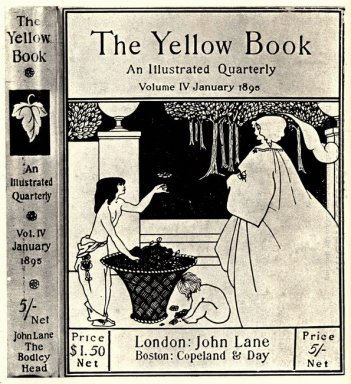 design unused for the cover of volume iv of the yellow book