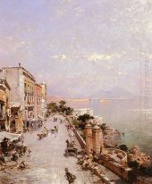 A View of Posilippo, Naples
