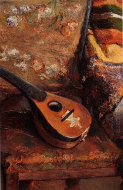 mandolin on a chair 1880