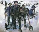 Workers In The Snow 1913