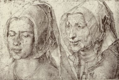 an young and old woman from bergen op zoom 1520