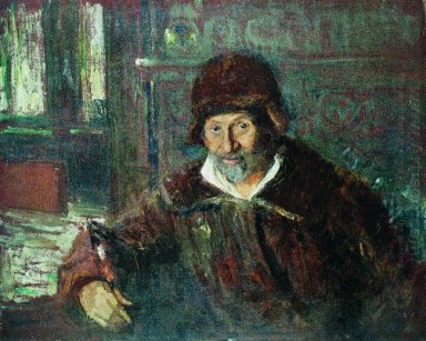 Oil Self Portrait 1920