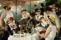 De Lunch Van De Boating Party 1881 1