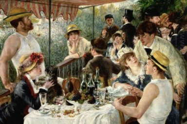 The Luncheon Of The Boating Party 1881 1