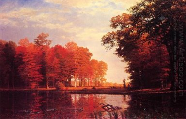 autumn woods 1886
