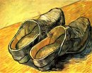 A Pair Of Leather Clogs 1888