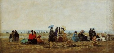 The Beach At Trouville 1871