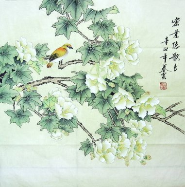Birds&Flowers - Chiense Painting