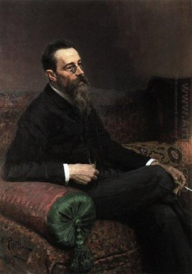 Portrait Of The Composer Nikolay Rymsky Korsakov 1893