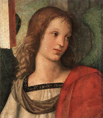 Angel Fragment Of The Baronci Altarpiece