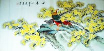 Birds - Flower - Chinese Painting