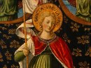 Saint Ursula With Angels And Donor Detail 1