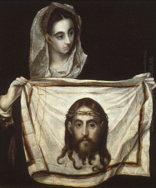St Veronica With The Holy Shroud