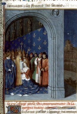 Maria Of Brabants Coronation In The Sainte Chapelle Of Paris