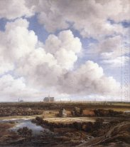 View of Haarlem with Bleaching Grounds