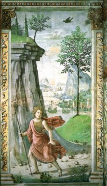 St John The Baptist In The Desert 1490