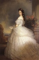 Elizabeth Empress Of Austria 1865
