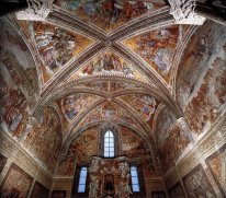 Frescoes in the Chapel of San Brizio