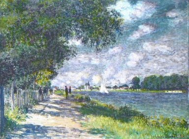 The Seine At Argenteuil 1875