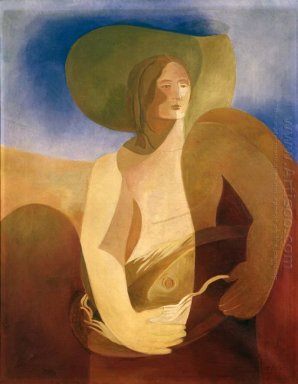 woman with fish 1934