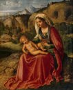 Madonna And Child In A Landscape 1504