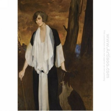 Portrait Of The Future Countess Henri De Boisgelin 1924