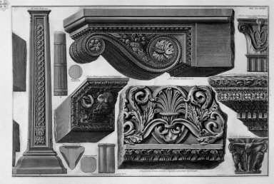 Shelf Capitals Friezes Etc