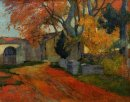 lane at alchamps arles 1888