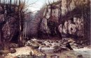The Stream Of The Puits Noir At Ornans 1868