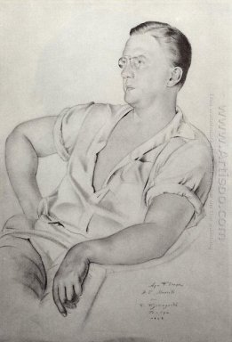 Portrait Of A K Mineev 1923