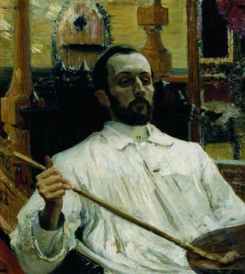 Portrait Of The Artist D N Kardovskiy 1897
