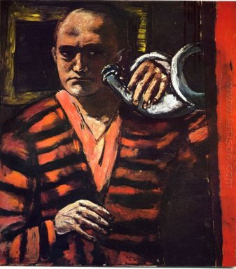 Self Portrait With Trumpet 1938