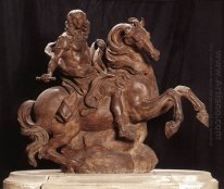 Equestrian Statue Of King Louis Xiv 1670