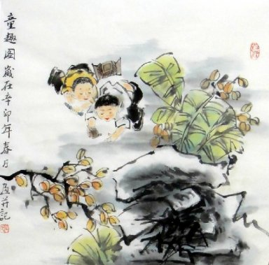 Boys-Chinese Painting