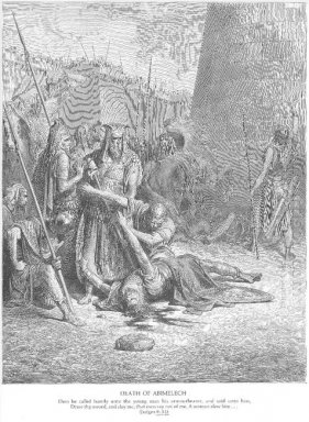 The Death Of Abimelech
