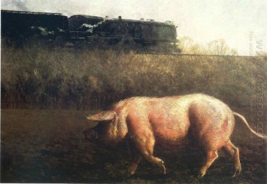 Pig And Train 1977