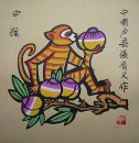 Zodiac & Monkey - la pintura china