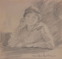 Portrait of Maria Kalfopoulou, chant professor
