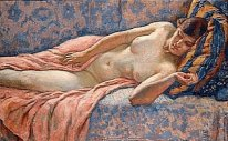 Etude Of Female Nude 1914