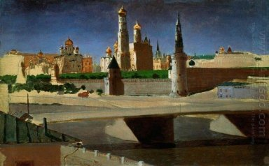 view of the kremlin from the zamoskvorechye district 1882