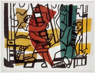 The Builders Outside Color 1955