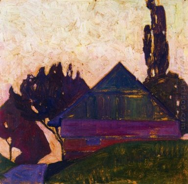 house between trees i 1908