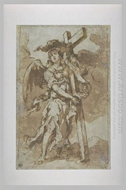 Angel Carrying The Cross 1660