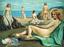 Bathers On The Beach 1934