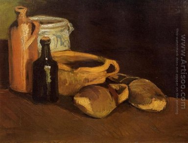 Still Life With Clogs And Pots