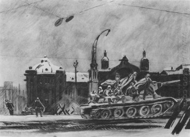 the tanks are on the front byelorussia station 1947